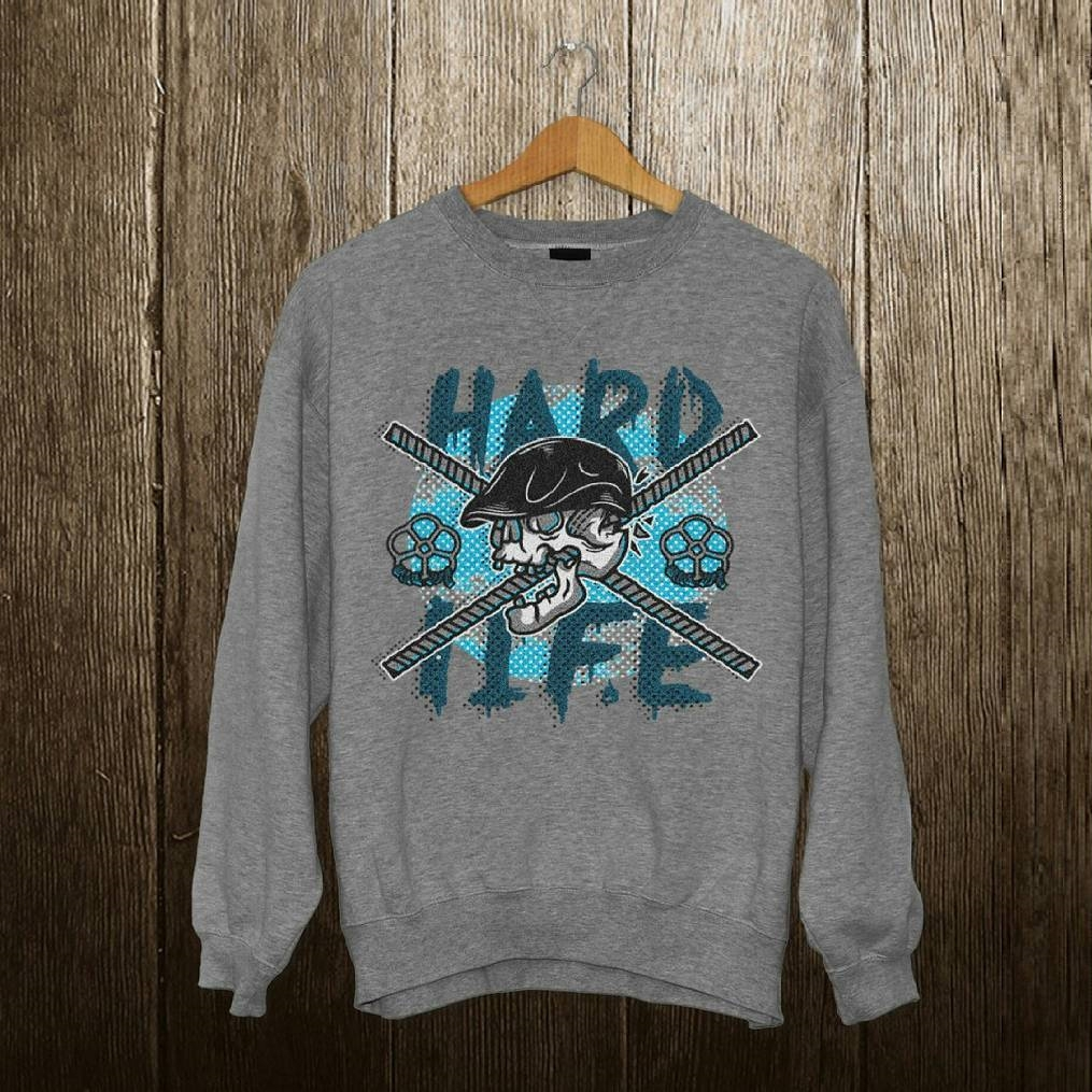 Свитшот Casual Spirit Hard Life