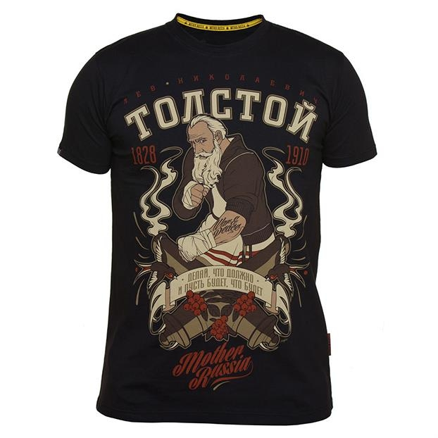 T-Shirt Mother Russia Tolstoy